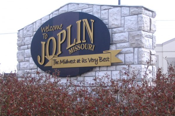 Joplin Welcome Sign