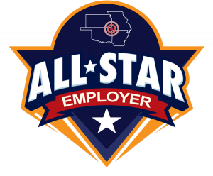 All-Star Employer logo