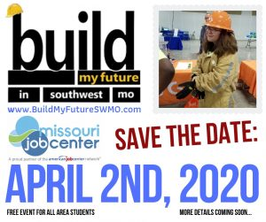 Build My Future flier for April 2, 2020 event